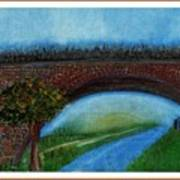Bridge March Art Print