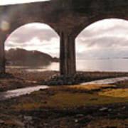 Bridge Near Mallaig Art Print