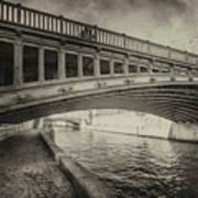 Bridge Of L'archeveche Art Print