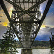 Bridge Of The Gods Art Print