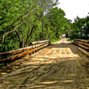 Bridge On Mill Rd.  Art Print