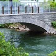 Bridge On The Niagara River Art Print