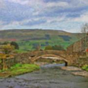 Bridge Over Duerley Beck - P4a16020 Art Print