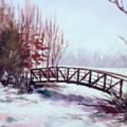 Snowy Span Art Print