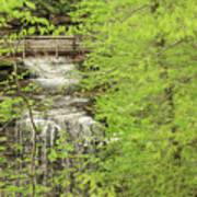 Bridge Over Little Clifty Falls Art Print