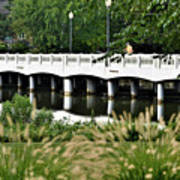 Bridge Over Silver Lake - Rehoboth Beach Delaware Art Print