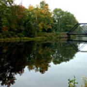 Bridge Over Still Waters Art Print