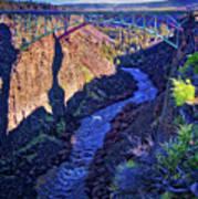 Bridge Over The Crooked River Gorge Art Print