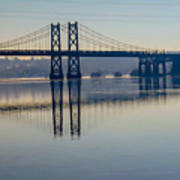 Bridge Over The Mississippi Art Print