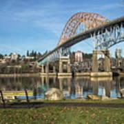Bridge Over The River Art Print