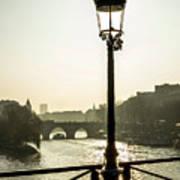 Bridge Over The Seine. Paris. France. Europe. Art Print