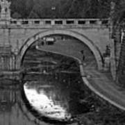 Bridge Over The Tiber Art Print