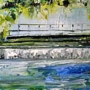 Bridge Over The Weir II Art Print