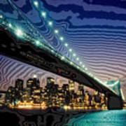 Bridge Over Troubled Waters Art Print