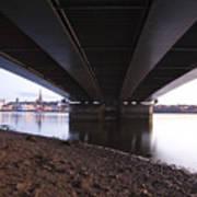 Bridge Over Wexford Harbour Art Print
