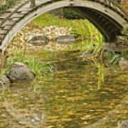 Bridge Reflections Art Print