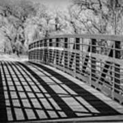 Bridge Shadows Art Print