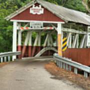 Bridge Through The Somerset Forest Art Print