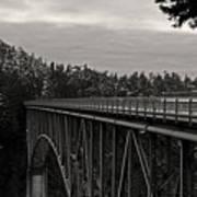 Bridge To Dawn Art Print