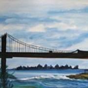 Bridge To Europe Art Print
