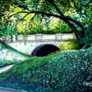Bridge To New York Art Print