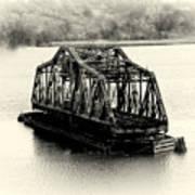 Bridge To Nowhere Art Print