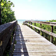 Bridge To Paradise Gp Art Print