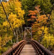 Bridge To Rainbow Falls Art Print