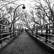 Bridge To The East River Art Print