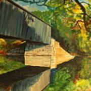 Bridge To Windham, Maine Art Print