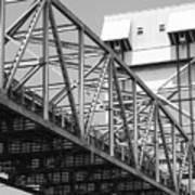 Bridge Willmington Nc Art Print