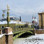 Bridges Of Petersburg Art Print