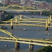 Bridges Of Pittsburgh Art Print