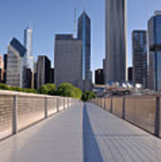 Bridgeway To Chicago Art Print
