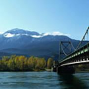 Bridging The Seasons Art Print