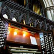 Bridlington Priory Pipe Organ Art Print