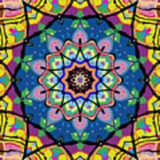 Brigadoon No. 1 Kaleidoscope Art Print