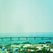 Brigantine Bridge - New Jersey Art Print