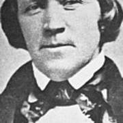 Brigham Young  Second President Of The Mormon Church, Aged 43, 1844 Art Print