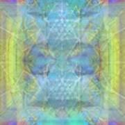 Bright Chalice Ancient Symbol Tapestry Art Print