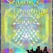 Bright Chalice Tree N 3 Kings Art Print