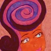 Bright Eyed Beauty Art Print