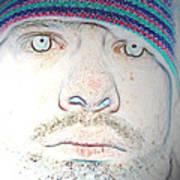 Bright Face Art Print