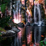 Bright Waterfalls Art Print