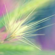 Bright Weed Art Print