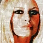 Brigitte Bardot By Mary Bassett Art Print