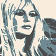 Brigitte Bardot Poster 2 Art Print