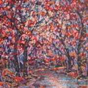 Brilliant Autumn. Art Print