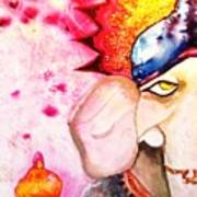 Brilliant Ganesh Art Print