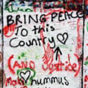 Bring Peace Art Print